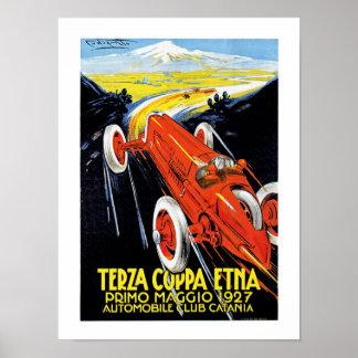 Terza Coppa Ätna Plakatdruck