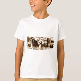 Tesla Briefkopf T-Shirt