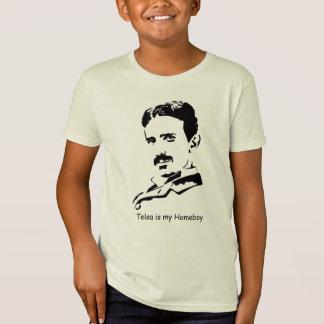 Tesla ist mein Homeboy T-Shirt
