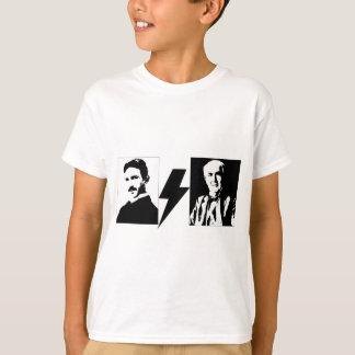Tesla und Edison - das ursprüngliche AC/DC. T-Shirt