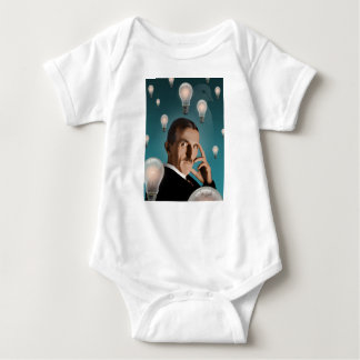 Teslas Traum Baby Strampler