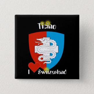 Tessin - Ticino - Schweiz - Svizzera Buttons
