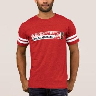 Testosteron-Junkie u. Chesterfield-Panther-T-Stück T-Shirt