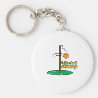 Tetherball Champion Schlüsselanhänger