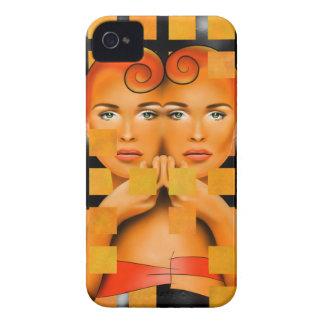 Tetrathos V1 - Herzkopf iPhone 4 Cover