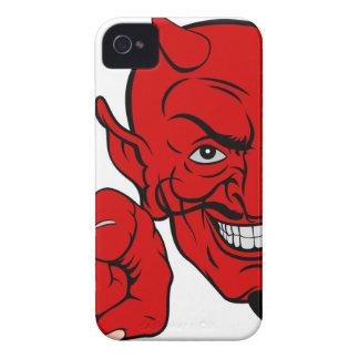 Teufel, der Cartoon-Charakter zeigt iPhone 4 Case-Mate Hülle
