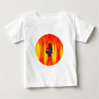 Teufel Flöte devil flute Pan Baby T-shirt
