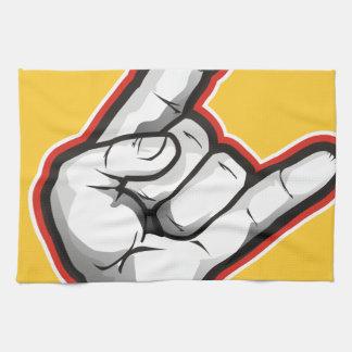 Handzeichen Teufel