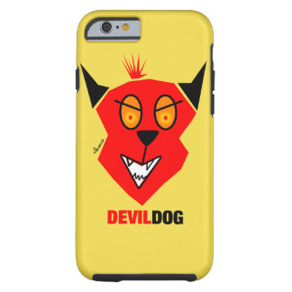 Teufel-Hund - iPhone 6 Abdeckung Tough iPhone 6 Hülle