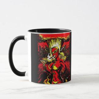 Teufel-Mädchen-Atombombe Tasse