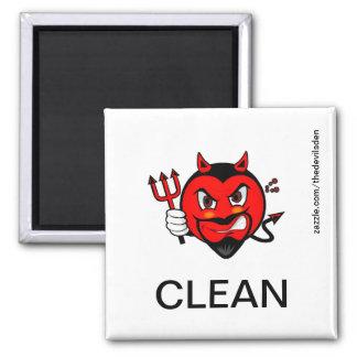 Teufel-sauberer Spülmaschinen-Magnet Magnets
