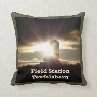 Teufelsberg, BERLIN Kissen