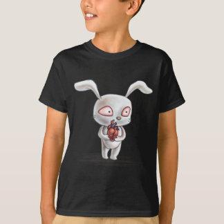 Teuflisches Häschen mit anatomischem Herzen T-Shirt