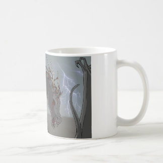Teuflisches Pferd Kaffeetasse