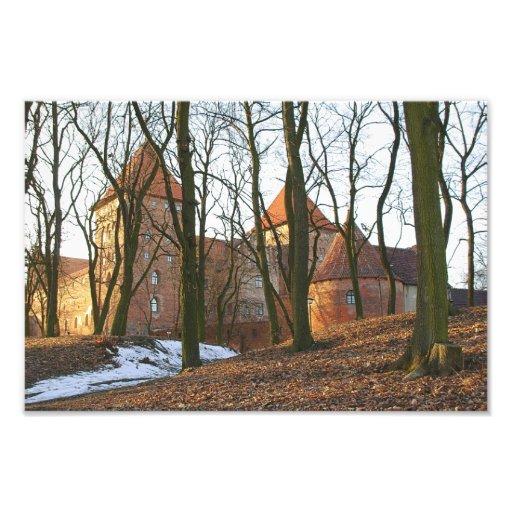 Teutonic Auftragsschloss Neidenburg - Foto
