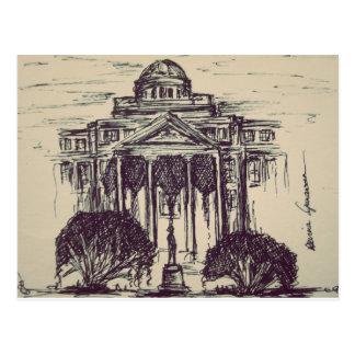 Texas A&M, das Postkarte zeichnet