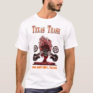 TEXAS-ABFALL SCHERZT T-STÜCK T-Shirt