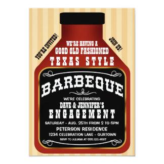 Texas-Art GRILLEN Verlobungs-Party Einladungen