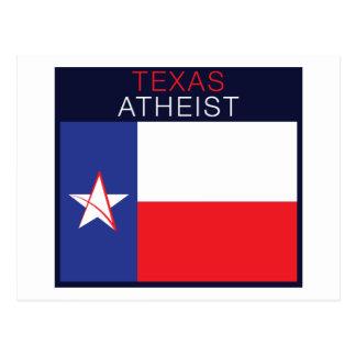 Texas-Atheist Postkarte