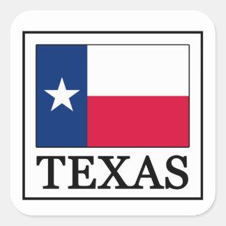 Texas-Aufkleber Quadratischer Aufkleber