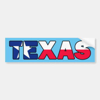 Texas Autoaufkleber