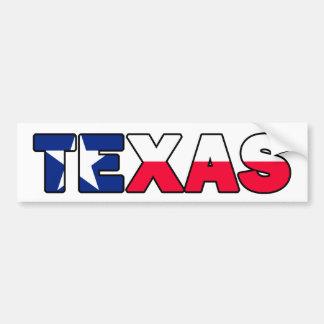 Texas-Autoaufkleber Autoaufkleber