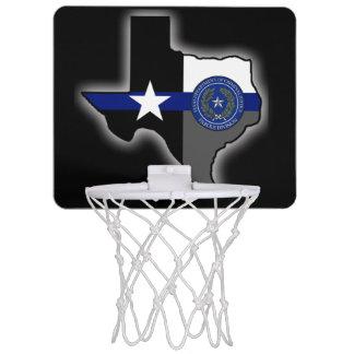 Texas-Bewährungs-Abteilung verdünnen Blue Line Mini Basketball Ringe