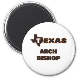 Texas-Bogen-Bischof Runder Magnet 5,1 Cm