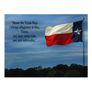 Texas-Bürgschaft Postkarte