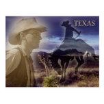 Texas-Cowboy Postkarten