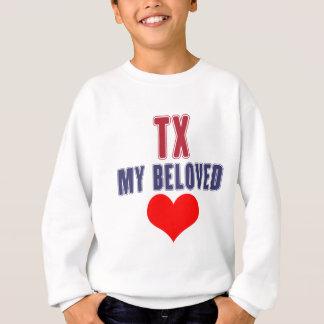 Texas-Entwurf Sweatshirt