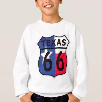 Texas-Farbe des Weg-66 Sweatshirt