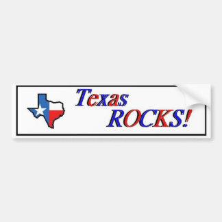 Texas-Felsen! Autoaufkleber