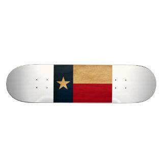 Texas-Flagge Skateboarddecks
