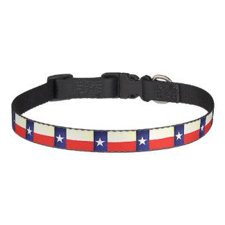 Texas-Flaggen-Hundehalsband Haustierhalsband
