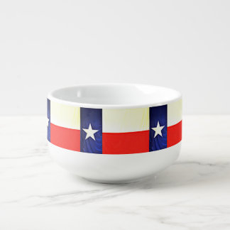 Texas-Flaggen-Suppen-Tasse Große Suppentasse