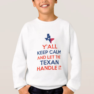 Texas-Flaggen-T-Shirts Sweatshirt
