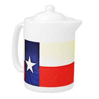 Texas-Flaggen-Tee-Topf