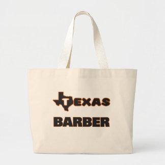 Texas-Friseur Jumbo Stoffbeutel
