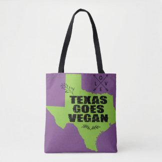 Texas geht vegan tasche