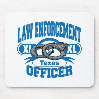 Texas-Gesetzeshüter-Handschellen Mousepads