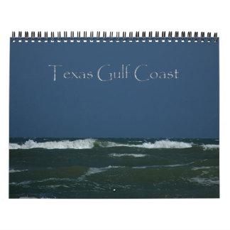 Texas-Golf-Küsten-Kalender Abreißkalender