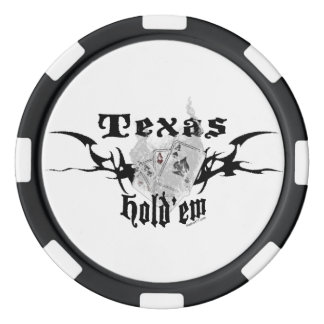 Texas halten sie Pokerchips