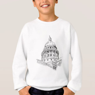 Texas-Hauptstadts-Gebäude Sweatshirt