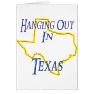 Texas - heraus hängend karte