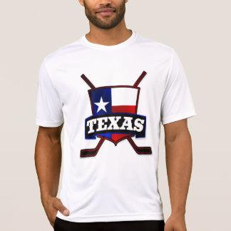 Texas-Hockey-Flaggen-Logo T-Shirt