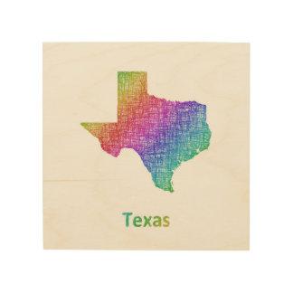 Texas Holzleinwand