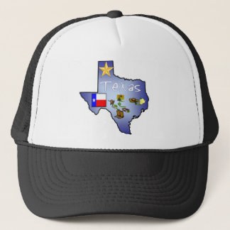 Texas-Hut Truckerkappe