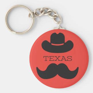 Texas im ROT Schlüsselanhänger
