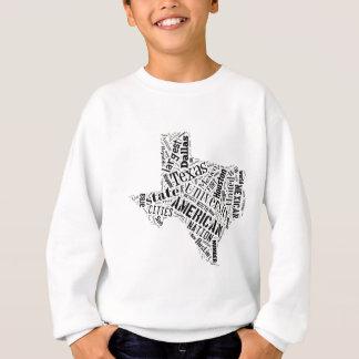 Texas in Tagxedo Sweatshirt